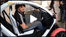 Bergamasco tests the Renault Twizy video